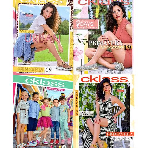 Paquete de 8 Catálogos CKLASS
