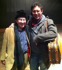 Menachem Pressler on tour