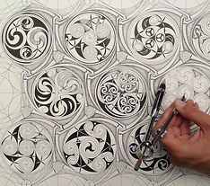 Celtic Pattern, Geometry and Imagination
