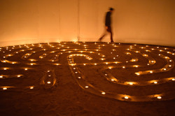 Candle Labyrinth