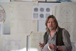 Jonathan Horning at SAOG Studios