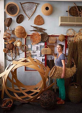Basket-Maker Annemarie O'Sullivan