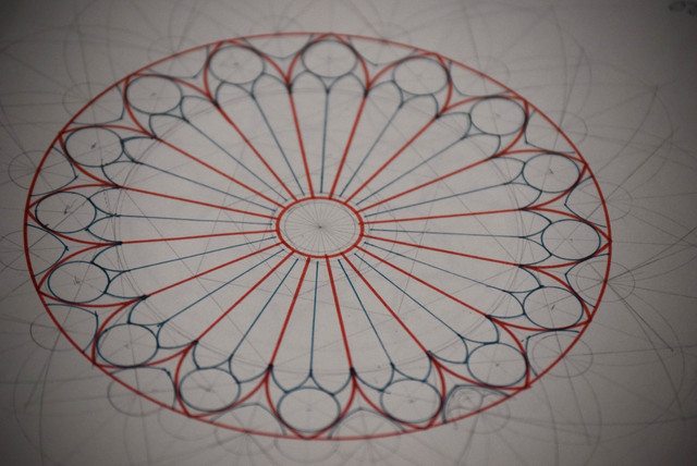 Rose Window Geometry