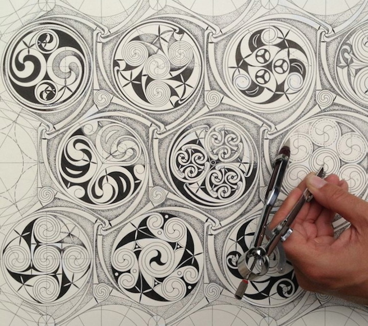 Celtic Patterns courses