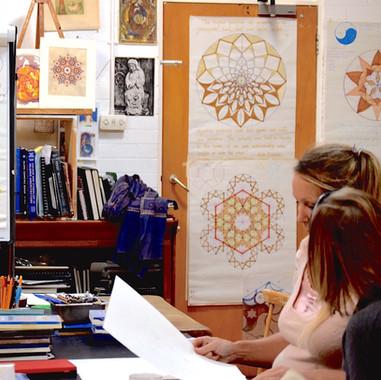Mandalas at SAOG Studios