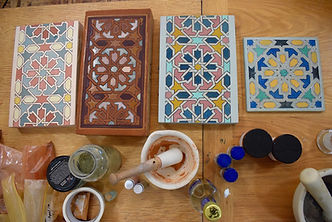 Moroccan Decorative Painting