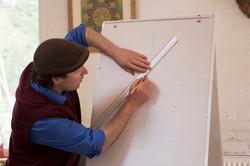 Daniel Docherty at SAOG Studios