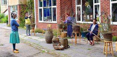 Willow Basketry at SAOG Studios