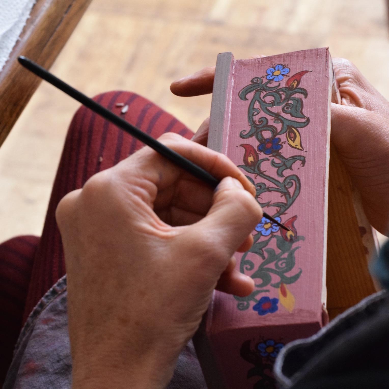 Zouaq Painting