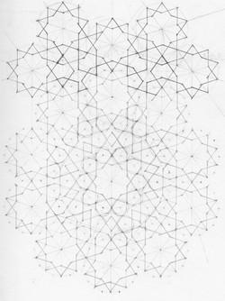 Tenfold Islamic Pattern