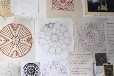 Rose Windows and Labyrinths at SAOG Studios