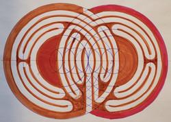 Vesica Labyrinth