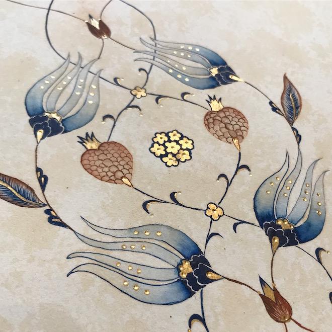 Ottoman Floral Illumination