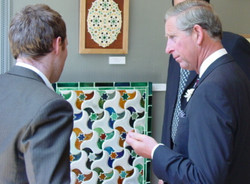 HRH and SAOG tutor Discussing....
