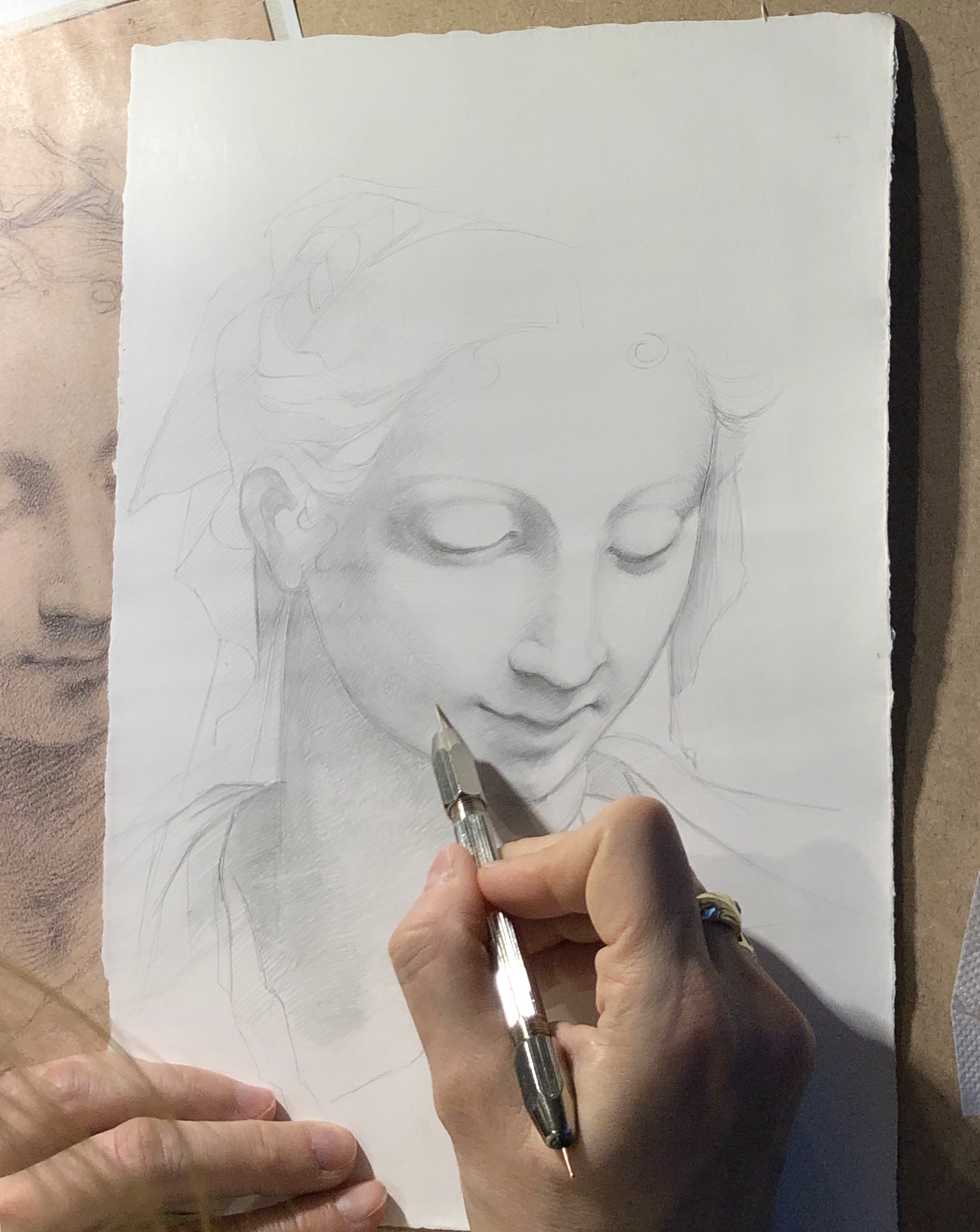 The Art of Silverpoint Drawing