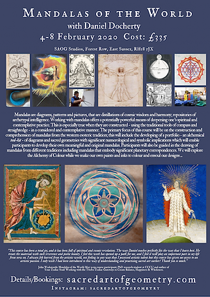 Mandalas and Sacred Geometry