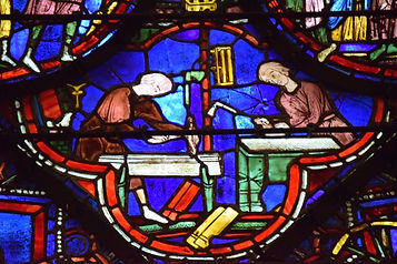 Masons at Work, Chartres stained glass windows