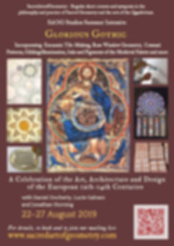 Sacred Art of Geometry courses at SAOG Studios