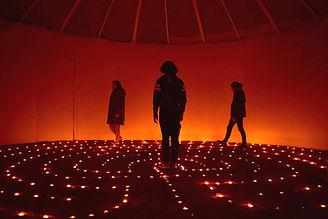 Walking the Labyrinth at SAOG Studios