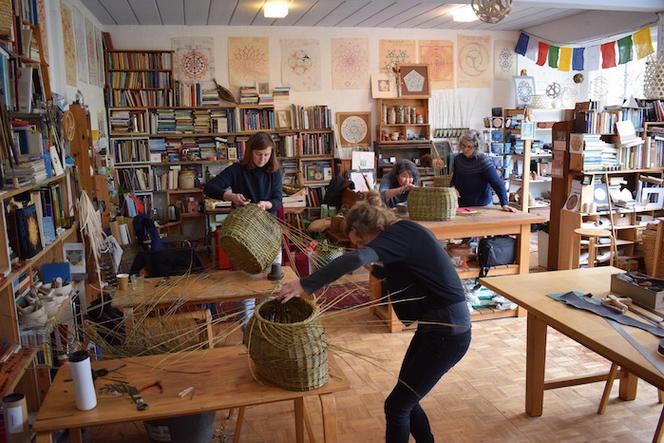 Willow Weaving at SAOG Studios