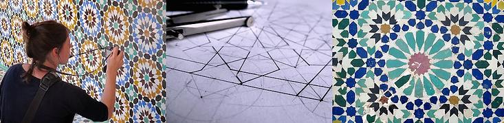 Moroccan Geometry at SAOG Studios