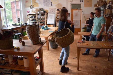 Basketry at SAOG Studios