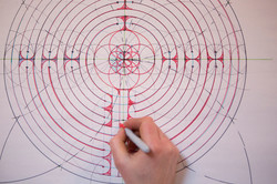 Draw the Chartres Labyrinth