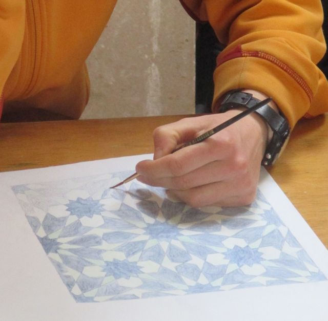 Moroccan Pattern and Tile- Making