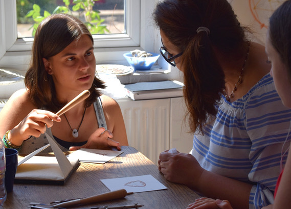 Gilding with Lucie Galvani