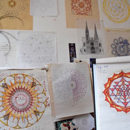 Mandala course at SAOG Studios