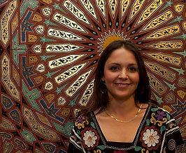 Natasha Mann Zouaq teaching