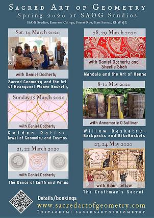 Sacred Geometry Courses at SAOG Studios, UK