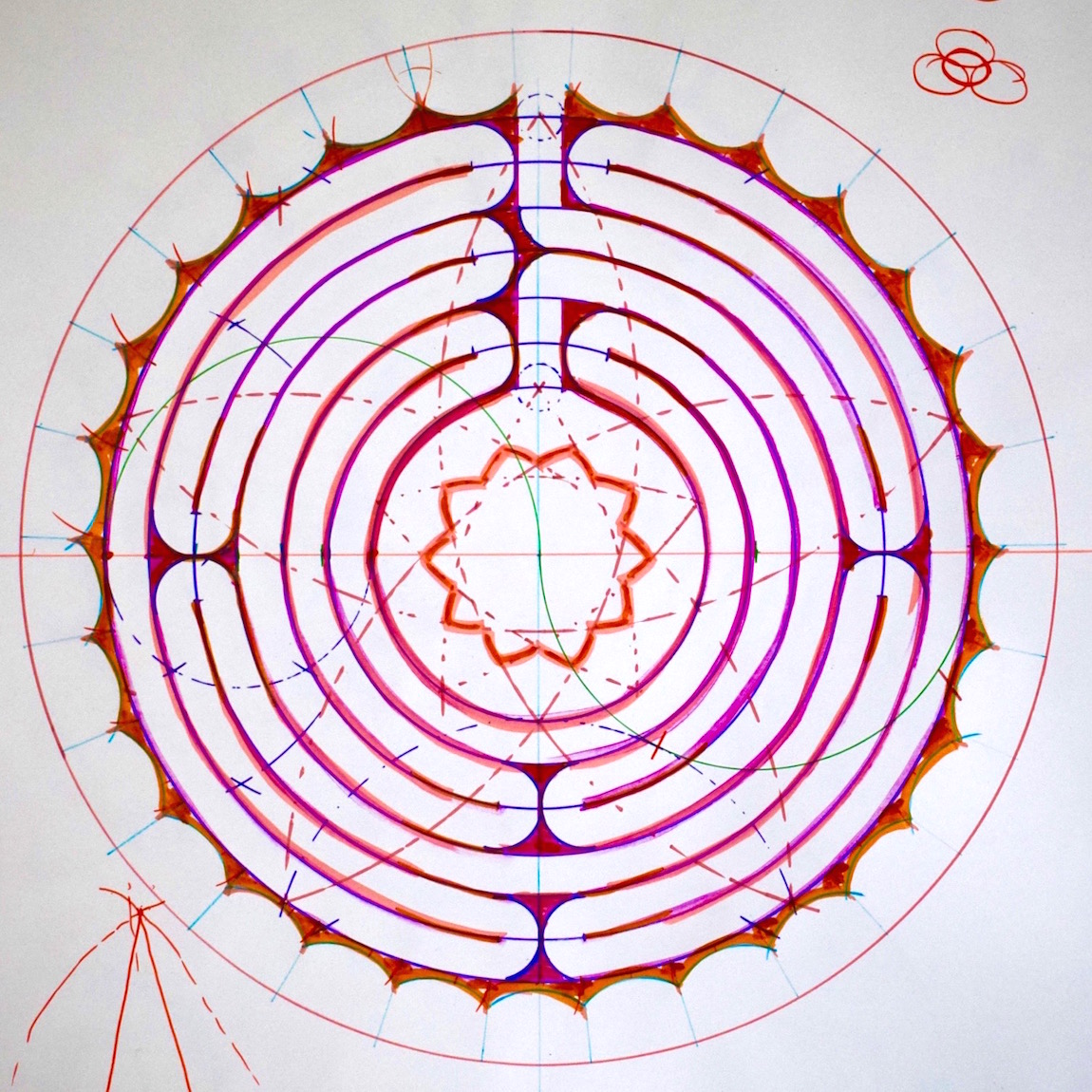 Sacred Geometry and Labyrinths