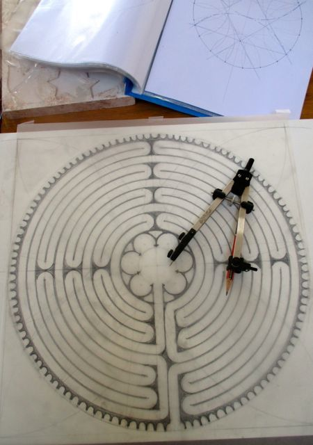 Labyrinths courses at SAOG Studios