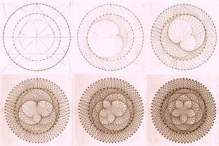 Dance of Earth and Venus (linkline pattern by Daniel Docherty/SAOG Studios)