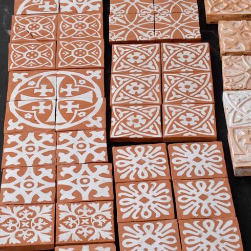 Encaustic Tile-Making at SAOG Studios
