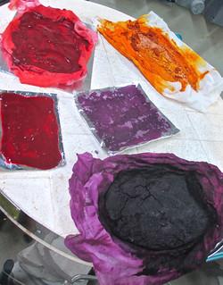 Pigment drying