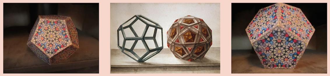 Platonic Solids Da Vinci