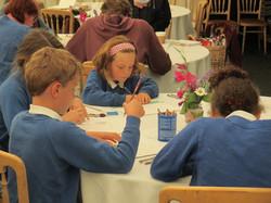 St Benedict pupils attend SAOI event