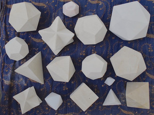 Platonic Solids in Stone course at SAOG Studios