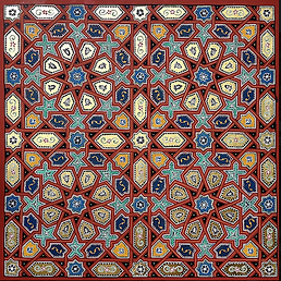 Moroccan Zouaq Painting