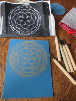 Venus and Earth Labyrinth