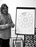 Jonathan Horning rose window design course at SAOG Studios