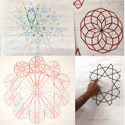 Tenfold Geometric Pattern