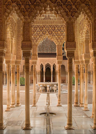 Patterns of the Alhambra_Court of Lions