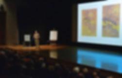 Barbara Blackman Temenos Foundation lecturer Daniel Docherty