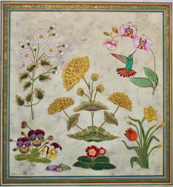 Mughal Floral Illumination