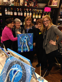 Paint Party and Wine Tasting