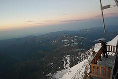 Utsikt fra Margheritahytta