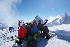 Vellykket tur forran Matterhorn
